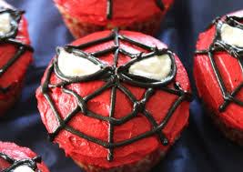 spiderman cupcakes chocolate hits