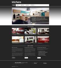 interior design responsive website template 45404