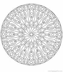 complex mandala coloring pages printable coolest coloring complex