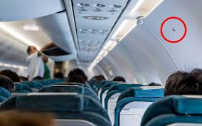 the secret behind those little triangle stickers in your airplane