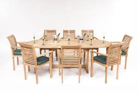 Monte Carlo Dining Room Set by Monte Carlo Oval Teak Garden Furniture Set Humber Imports
