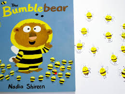fingerprint bumble bees kids crafts youtube