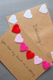 Homemade Valentines Gifts For Him by 14 Diy Valentine U0027s Day Cards Homemade Ideas For Valentines Day Cards