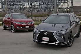 lexus jeep 2016 2016 lexus rx 350 vs lincoln mkx autoguide com news