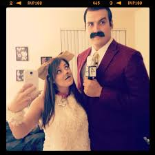 50 Couples Halloween Costume Ideas Ron Burgandy Pal Baxter Anchorman Costumes