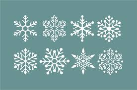 snowflake wall decals winter holiday decorations snow flake details snowflake decals