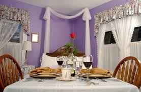 beautiful purple dining room decorating ideas