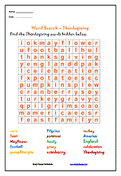 thanksgiving worksheets studychs