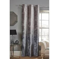 Ombre Window Curtains Ombre Crushed Velvet Panel 54 X 86 Curtains B M