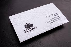 letterpress business cards luxury printing