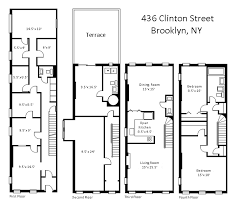 brownstone floor plans new york city house for sale at 436 clinton street new york ny 11231
