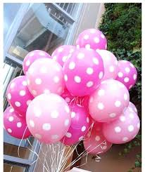 polka dot balloons outstanding polka dot decoration pink white polka dot balloons