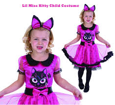Halloween Kitty by Lil Miss Kitty Halloween Pink Cat Witch Costume S S 6 M 8 Girls