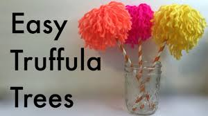 dr seuss crafts make easy truffula trees from the lorax youtube