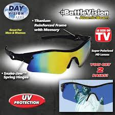 magnifying eyeglasses with light as seen on tv battlevision