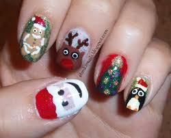 nail art for christmas images how you can do it at home