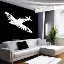 popular vinyl transfer decal buy cheap vinyl transfer decal lots spitfire british fighter aircraft plane aeroplane wall art sticker mural graphic decal vinyl transfer stencils children