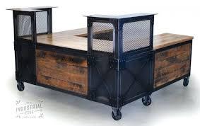 custom made reception desk desk modern industrial reception desk custom made custom reception