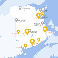 New Brunswick Canada Map Detailed by The John Howard Society Of New Brunswick The John Howard Society