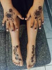 henna tattoo in bürstadt kosmetik und schönheit kaufen und