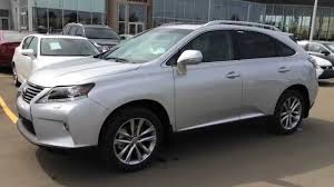 suv lexus 2014 2015 lexus rx 350 awd sportdesign edition review silver on black