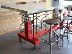 Vegas Storage Bar Table Industrial Rustic Handmade Vintage Storage Console Kitchen