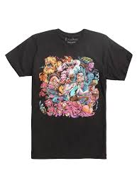 rick and morty get schwifty tie dye t shirt topic