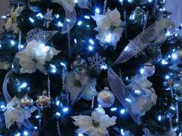 luxury blue and white tree decorations luxury blue and