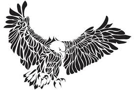 tribal eagle tattoo tribal eagle tattoos designs tatts