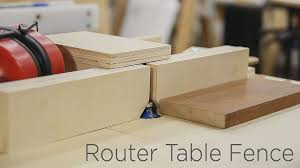 diy router table fence adjustable router table fence for my homemade router lift 190 youtube