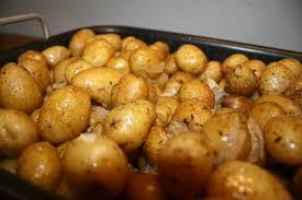 pommes de terre grenaille au four trop bon