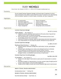 Customer Service Manager Resume   Resume Example marykomasa com