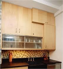 cabinet doors that slide back 14 glass kitchen cabinet door design ideas rosenhaus kitchen design