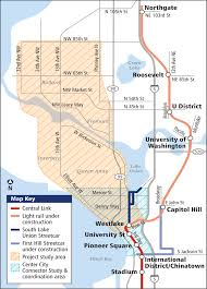 Seattle Public Transit Map seattle department of transportation transit program ballard to