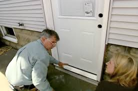 Replacing An Exterior Door Threshold Backyards How Replace Exterior Door Part Prehung Installation