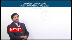 gurukulam mental ability clock g prashanth reddy youtube