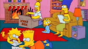 a look back at the simpsons premiere simpsons roasting on an
