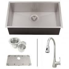 kitchen sink and faucet combinations kitchen sink and faucet combo