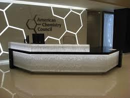 Unique Reception Desks Furniture Ebay Reception Desk And Lighted Accent Walls With Floor