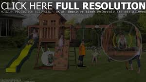 backyard discovery monticello cedar swing set box 2 home outdoor