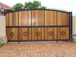 stainless steel gates designs modern gate wood and pictures image