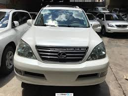 lexus sports car white lexus gx 470 2003 white full option dvd new arrival in phnom penh