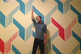diy painted wall design is way cooler than any wallpaper you u0027ll