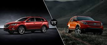 mazda 9 mazda cx 9 vs 2015 ford explorer