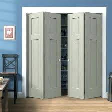 Bi Fold Doors For Closets Folding Doors For Closets Solid Wood Closet Doors Design Bifold