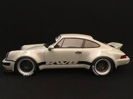 porsche ducktail porsche 911 type 964 rwb coupe 1990 ducktail grey 1 18 gt spirit