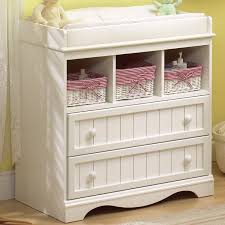 southshore savannah changing table in pure white free shipping