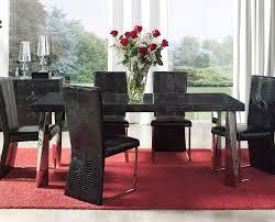 contemporary black dining room sets contemporary dining room sets