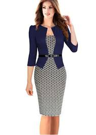 autumn new fashion temperament women business casual work cocktail