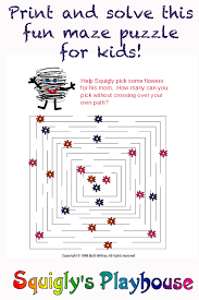 printable halloween mazes maze puzzles at squigly u0027s playhouse